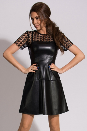 EMAMODA DRESS - BLACK 9904-1